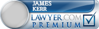 James W. Kerr  Lawyer Badge