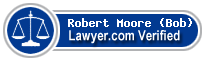 Robert M. Moore (Bob)  Lawyer Badge