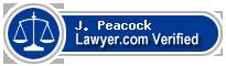 J. Hoke Peacock  Lawyer Badge