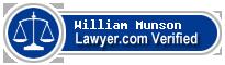 William B. Munson  Lawyer Badge