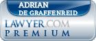 Adrian L. De Graffenreid  Lawyer Badge