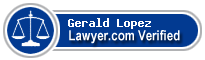 Gerald R. Lopez  Lawyer Badge