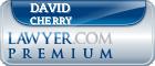 David Earl Cherry  Lawyer Badge