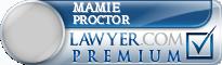 Mamie M. Proctor  Lawyer Badge