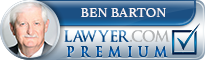 Ben Morton Barton  Lawyer Badge