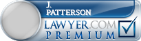 J. Anthony Patterson  Lawyer Badge