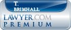 T. Wayne Brimhall  Lawyer Badge