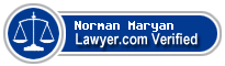 Norman E. Maryan  Lawyer Badge