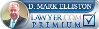 D. Mark Elliston  Lawyer Badge