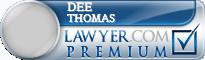 Dee Lee Thomas  Lawyer Badge