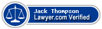 Jack Richard Thompson  Lawyer Badge