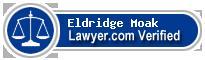 Eldridge Moak  Lawyer Badge