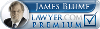 James Donald Blume  Lawyer Badge