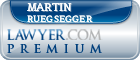 Martin Craig Ruegsegger  Lawyer Badge