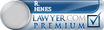 R. Ken Hines  Lawyer Badge