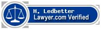 H. J. Ledbetter  Lawyer Badge