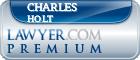Charles W. Holt  Lawyer Badge