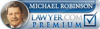 Michael E. Robinson  Lawyer Badge