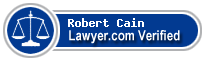 Robert Thomas Cain  Lawyer Badge