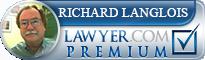 Richard E. Langlois  Lawyer Badge