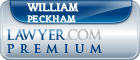 William T. Peckham  Lawyer Badge