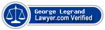 George Louis Legrand  Lawyer Badge