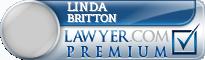 Linda Matthews Britton  Lawyer Badge