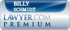 Billy Schmidt  Lawyer Badge