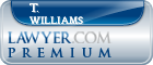 T. Keith Williams  Lawyer Badge