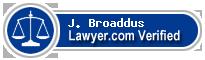 J. Morgan Broaddus  Lawyer Badge