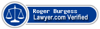 Roger G. Burgess  Lawyer Badge