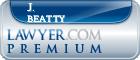 J. Robert Beatty  Lawyer Badge