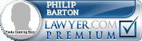 Philip Barton  Lawyer Badge