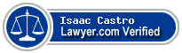 Isaac M. Castro  Lawyer Badge
