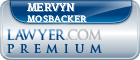 Mervyn Milton Mosbacker  Lawyer Badge