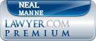 Neal S. Manne  Lawyer Badge