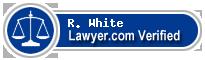 R. Harold White  Lawyer Badge