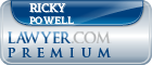 Ricky Powell  Lawyer Badge