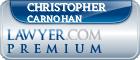 Christopher P. Carnohan  Lawyer Badge