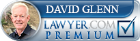 David Milton Glenn  Lawyer Badge