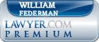 William Bernard Federman  Lawyer Badge