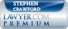 Stephen ONeal Crawford  Lawyer Badge