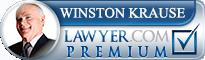 Winston Krause  Lawyer Badge
