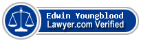 Edwin Johnston Youngblood  Lawyer Badge