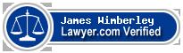 James Edward Wimberley  Lawyer Badge