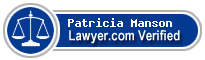 Patricia A. Manson  Lawyer Badge