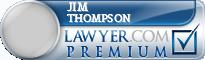 Jim Frost Thompson  Lawyer Badge