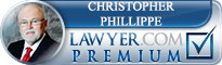 Christopher Lee Phillippe  Lawyer Badge