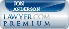 Jon L. Anderson  Lawyer Badge