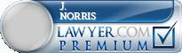 J. Kenny Norris  Lawyer Badge